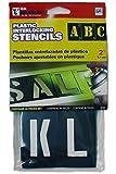 プラスチック製 ステンシル2インチ 2inch