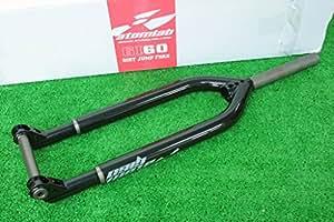 レア! USA Atomlab GI60 Dirt Jump Fork Black アメリカ アトムラブ ダートジャンプ 専用フォーク QR20mm 26インチ用 ブラック