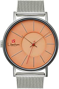 [リベンハム]Libenham 腕時計 ミディアムサイズ メッシュ LH90032-10 Evening-Red(夕焼け) メンズ 【正規輸入品】