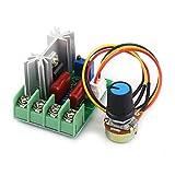 電圧コントローラ SCRコントローラ AC 50-220V 2000W SCR 電気電圧レギュレータ 温度/モータ速度コントローラライトディマー 電圧レギュレータ調光器 電圧コントローラ コントローラ