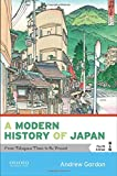 A Modern History of Japan: From Tokugawa Times to the Presen…