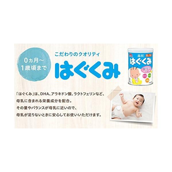 森永 はぐくみ エコらくパック 800g(40...の紹介画像4