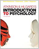 Atkinson & Hilgard's Introduction to Psychology 15/E