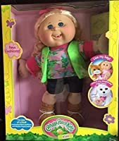Cabbage Patch Kids Doll with Adoptimals Key Blonde Adventure Doll by Cabbage Patch Kids [並行輸入品]