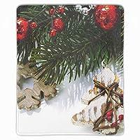 マウスパッド クリスマスの飾り ゲーム用 パソコン デスクマット おしゃれ 疲労低減 滑り止めゴム底 滑りやすい表面 会社 オフィス 学生 レディース 軽量 印刷