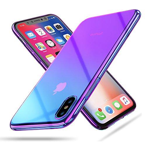 RAXFLY iPhone X ケース 全面保護強化ガラス ...