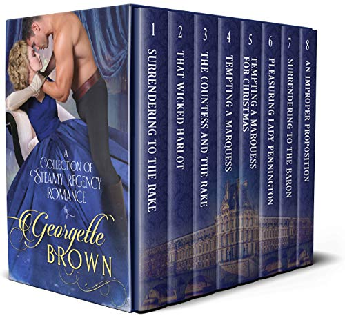 Georgette Brown Boxset: A Collection of Steamy Regency Romance (English Edition)