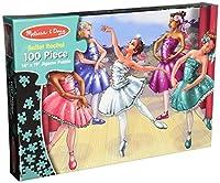 Melissa & Doug's 100 Piece Ballet Recital Jigsaw Puzzle [並行輸入品]