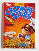 Croonchy Stars Cereal Fridge Magnet by Blue Crab Magnets