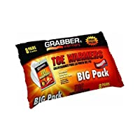 Grabber Toe Warmers Super Size Package 32-Count by Grabber