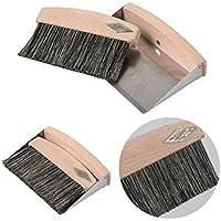 [ダルトン] Dust brush set R655-794 豚毛 箒&塵取りセット