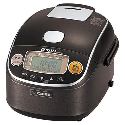 象印 炊飯器 3合 圧力IH式 極め炊き ダークブラウン NP-RX05-TD