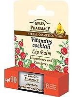 Elfa Pharm Green Pharmacy グリーンファーマシー Lip Balm リップバーム Lingonberry & Cranberry