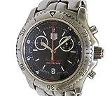 タグホイヤー メンズ腕時計 リンク シーレーサー クロノグラフ SS クオーツ ブラック文字盤 [中古]