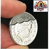 デビッドブレインMAGICかまして復元10pのCOIN PRO QUALITY - DAVID BLAINE MAGIC BITTEN AND RESTORED 10p COIN PRO QUALITY