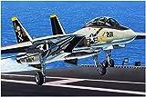 ファインモールド 1/72 航空機シリーズ アメリカ海軍 F-14A トムキャット プラモデル FP30