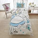 Disney(ディズニー) 寝具カバー3点セット アリス 和式シングル SB-120 100210617801-02-01
