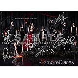 """The Vampire Diaries TV Show印刷–Cast Ian Somerhalder、ポール・ウェズレイ、ニーナ・ドブレフ、Kat Graham、Candice Accola、ザック・ローリグ( 11.7"""" X 8.3"""" )"""