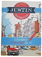 Coloring Books Justin Drawing Book [並行輸入品]