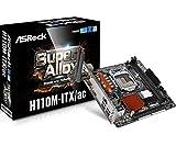 ASRock Intel H110チップセット搭載 MiniITXマザーボード H110M-ITX/ac