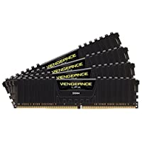 Corsair Vengeance LPX 16GB (4 x 4GB) DDR4 DRAM 2133MHz C13 memory kit for DDR4 Systems (CMK16GX4M4A2133C13) by Corsair [並行輸入品]