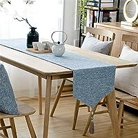 LXF テーブルランナー テーブルランナーバラップタッセルデザインピュアカラーエレガント (サイズ さいず : 36*160cm)