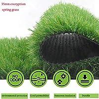 人工芝、35mm杭の高さ1m×6mその他のいくつかのサイズから選択可能 (Color : Green, Size : 1m×1m)