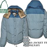 Down Sierra Jacket TT 7957: Blue Stone / Navy