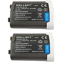 [WELLSKY] Nikon ニコン EN-EL18 / EN-EL18a / EN-EL18b / EN-EL18c 互換バッテリー [ 純正品と同じよう使用可能 純正充電器で充電可能 残量表示可能 ] D4 / BL-5 / BL-6 / MB-D12 / MB-D18 / D4s / D5