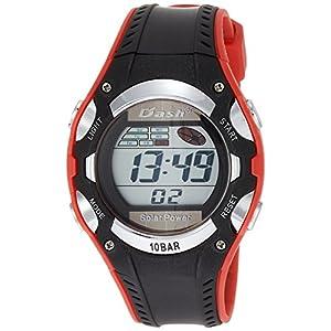 [アリアス]ALIAS 腕時計 ソーラー デジタル DASH 10気圧防水 ウレタンベルト レッド ブラック ADWW16032SOL15 メンズ