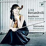 ベートーヴェン:ヴァイオリン協奏曲、ツィンツァーゼ:6つの小品