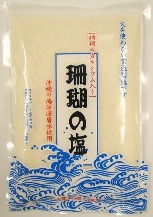 黒糖本舗垣乃花 珊瑚の塩 400g x12袋