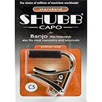 Shubb: Banjo Capo (C5). For バンジョー, マンドリン, ブズーキ