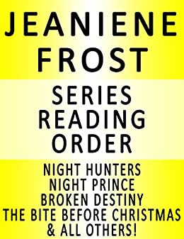 Jeaniene frost series reading order series list in order jeaniene frost series reading order series list in order night huntress fandeluxe Ebook collections