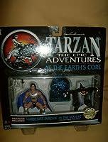 Tarzan-The Epic Adventures-At the Earth's Core-Harbenite Tarzan vs the Mahar-1995 by Trendmasters [並行輸入品]