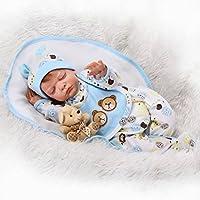 SanyDoll Rebornベビー人形ソフトSilicone 22インチ55 cm磁気Lovely Lifelike Cute Lovely Baby b0763kz9 X 2