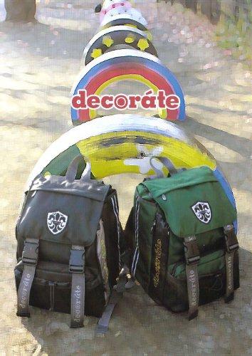 ★もっと自由に!カジュアルランドセル★ decorate デコレート <Verdero>ディープグリーン ★25L(L) 高性能・多機能リュック 買い替え 中・高学年用