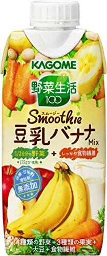 カゴメ 野菜生活100 Smoothie 豆乳バナナMix ...