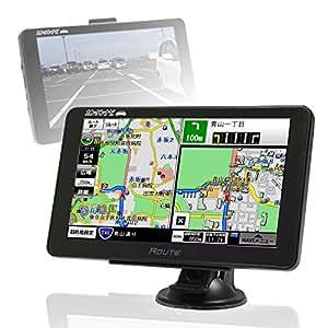 MAXWIN(マックスウィン)ポータブルナビ 7インチ カンタン 3年間 地図更新無料 2016年 住友電工 初心者 年配 女性 GPS ワンセグ 外部入力 バックモニター タッチパネル Bluetooth NV-A004A NV-A004A