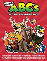 Witty and Friends ABC's Activity and Coloring Book