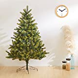 クリスマスツリー150cm 120cm 北欧 ヌードツリー 上質ツリー 本物そっくり リアルな葉 単品ツリーDIY モミの木 プレゼント北欧風 Christmas Xmas LEDライトツリースカートTGOOD (150cm)