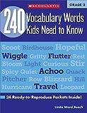 240 Vocabulary Words Kids Need to Know: Grade 2...