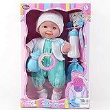 Smartroman 14インチの人形セットIcのおもちゃ教育赤ちゃんの人形人形クリスマスギフト マルチカルボキシル