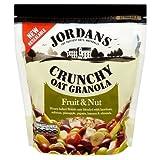 ジョーダン Jordans Crunchy Oat Granola Fruit & Nut (750g) ジョーダンカリカリエンバクグラノーラフルーツとナッツ( 750グラム)