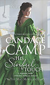 His Sinful Touch (The Mad Morelands Book 5) by [Camp, Candace]
