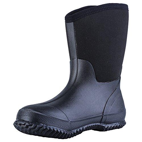 レインブーツ レインシューズ 雨靴 長靴 メンズ 通勤 通学 ハンティング 水作業靴 雨対策 防滑 柔らか おしゃれ Hellozebra® 25.0~25.5cm(6)
