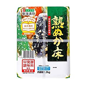 東海漬物 熟ぬか床(プラ容器) 1.2kg