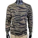 ロスコ カモ ロングスリーブTシャツ (XL, タイガーカモ)