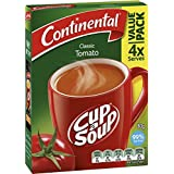 Continental Cup A Soup Tomato, 4 Pack, 80g
