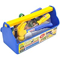 Little Treasures Children's Learning Deluxe Tool Series Pretend and Play Fixing Set with Tote Bag for Builders 16 Piece [並行輸入品]